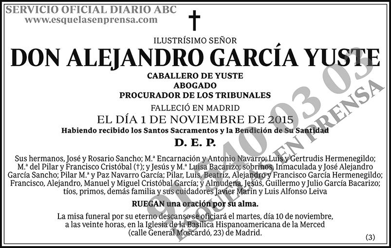 Alejandro García Yuste